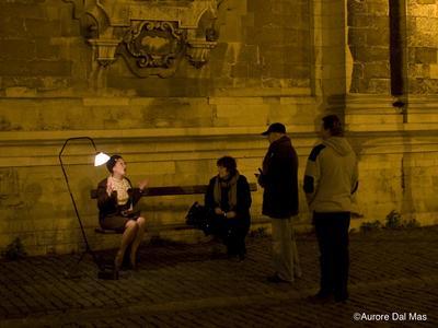 Confidences sur un banc, par la collectif Le Lampadaire à 2 bosses. @ Centre culturel du Roeulx | Le Roeulx | Région wallonne | Belgique